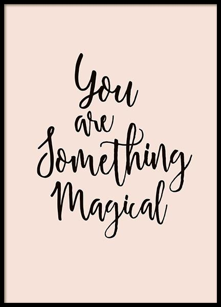Something Magical Poster in de groep Posters / Kinderposters bij Desenio AB (10868)