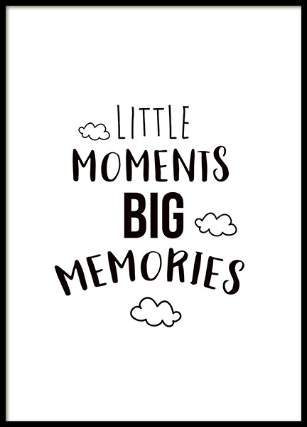 Little Moments Poster in der Gruppe Poster / Kinder bei Desenio AB (11442)