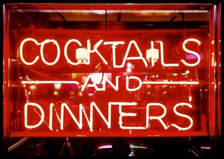 Cocktails and Dinners Poster in de groep Posters / Keuken posters bij Desenio AB (11687)