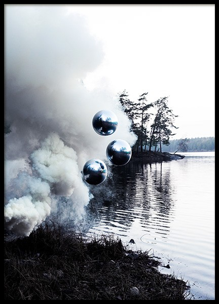 Smoke on the Water Affiche dans le groupe Affiches / Photographie chez Desenio AB (12198)
