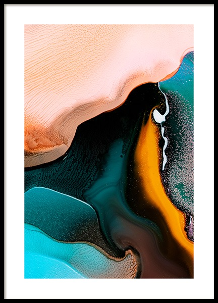 Abstract Inks No2 Poster in der Gruppe Poster / Kunstdrucke bei Desenio AB (12231)