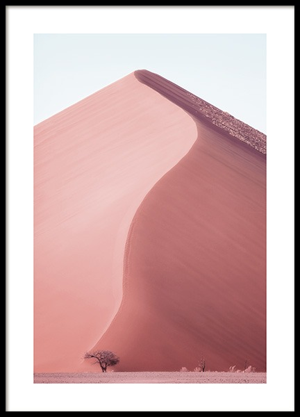 Sand Dune Namibia Poster in der Gruppe Poster / Naturmotive bei Desenio AB (12260)