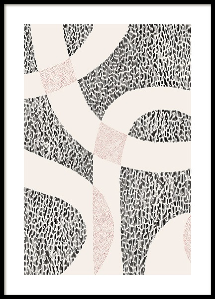 Dot Abstract No2 Poster in der Gruppe Poster / Kunstdrucke bei Desenio AB (12500)