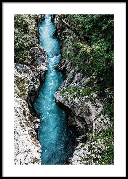 The Soca River Poster in der Gruppe Poster / Naturmotive bei Desenio AB (12536)