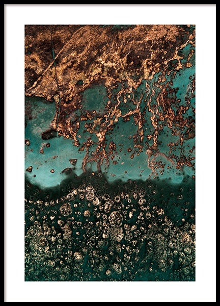 Abstract Sand Poster in der Gruppe Poster / Naturmotive bei Desenio AB (13407)