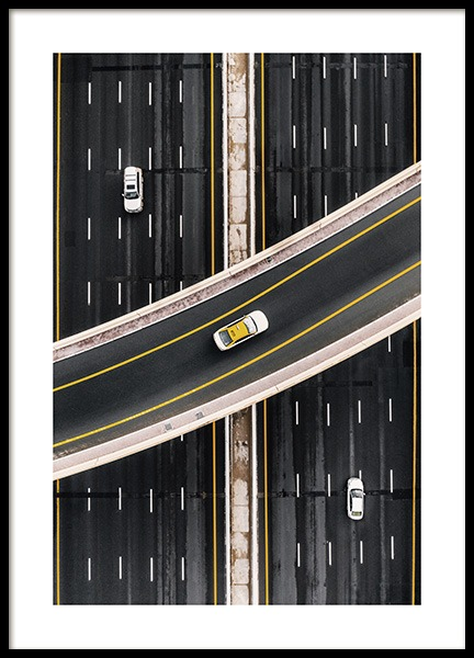 Crossing the Highway Poster in der Gruppe Poster / Fotografien bei Desenio AB (13535)