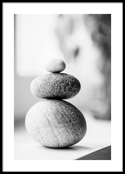 Stack of Pebbles Poster in der Gruppe Poster / Fotografien bei Desenio AB (13687)