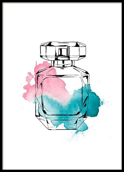 Perfume Color Three Poster in der Gruppe Poster / Fashion bei Desenio AB (2586)