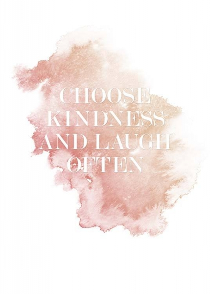 Choose Kindness Affiche dans le groupe Affiches / Affiche citation chez Desenio AB (3939)