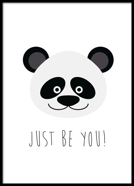 Just Be You, Poster in der Gruppe Poster / Kinder bei Desenio AB (8510)