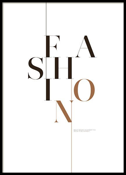Fashion Page, Posters in de groep Posters / Fashion bij Desenio AB (8560)