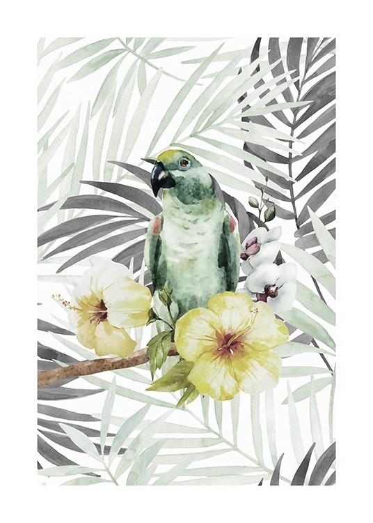 Tropical Bird No2 Poster / Tiere bei Desenio AB (10649)